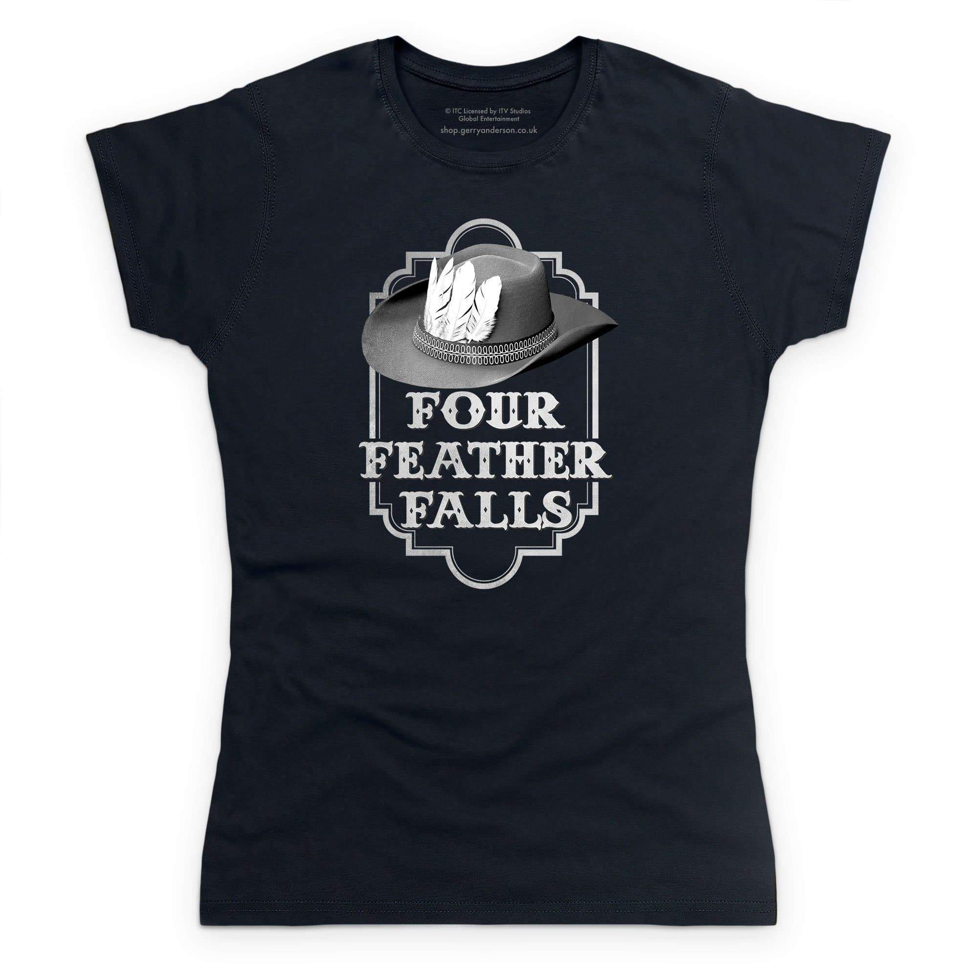 Four Feather Falls Women's T-shirt [Official & Exclusive] - The Gerry Anderson Store
