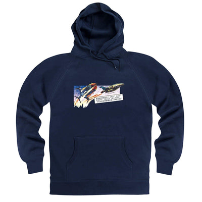 Frank Bellamy Thunderbirds Comic Strip Hoodie [Official & Exclusive] - The Gerry Anderson Store