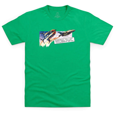 Frank Bellamy Thunderbirds Comic Strip Men's T-Shirt [Official & Exclusive] - The Gerry Anderson Store