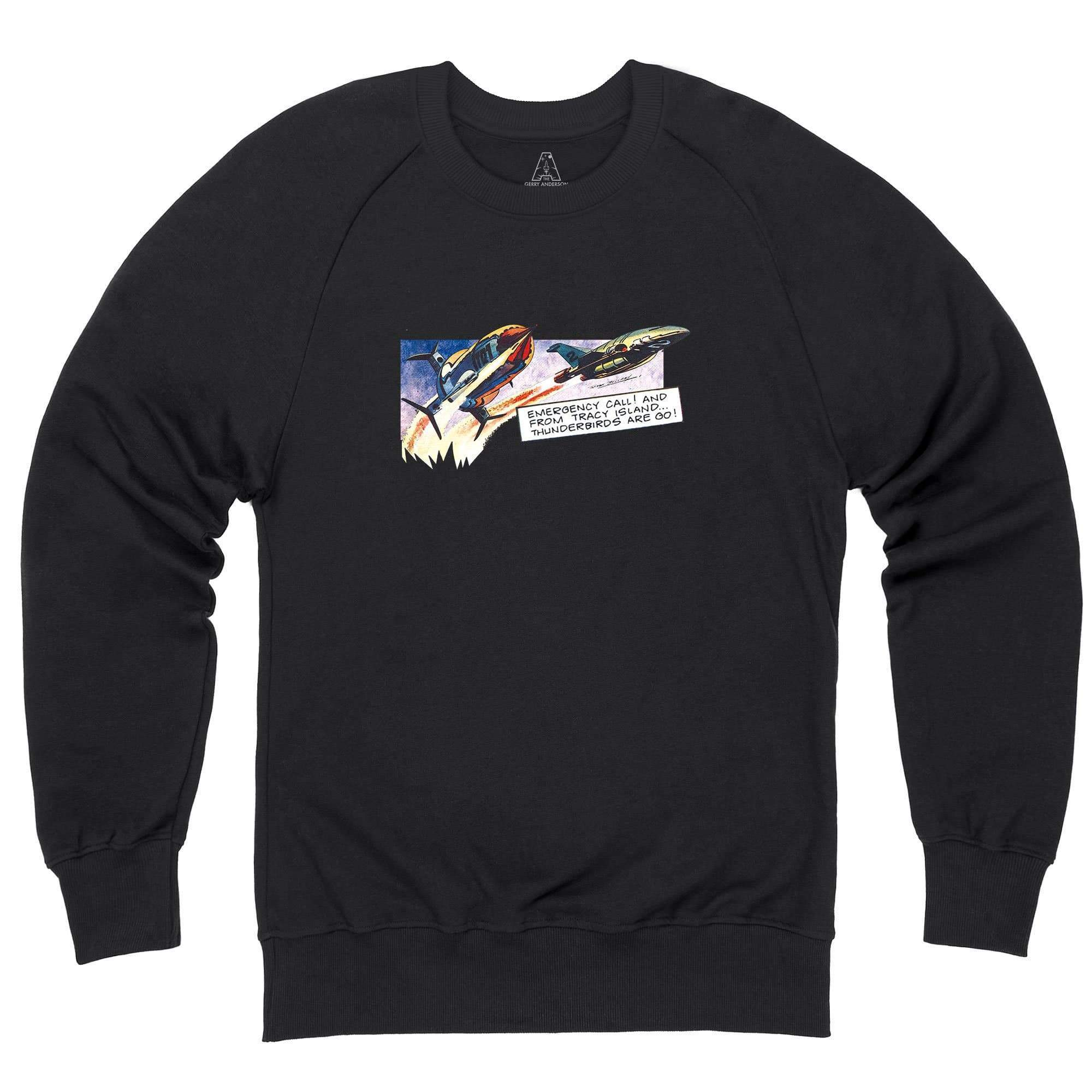 Frank Bellamy Thunderbirds Comic Strip Sweatshirt [Official & Exclusive] - The Gerry Anderson Store
