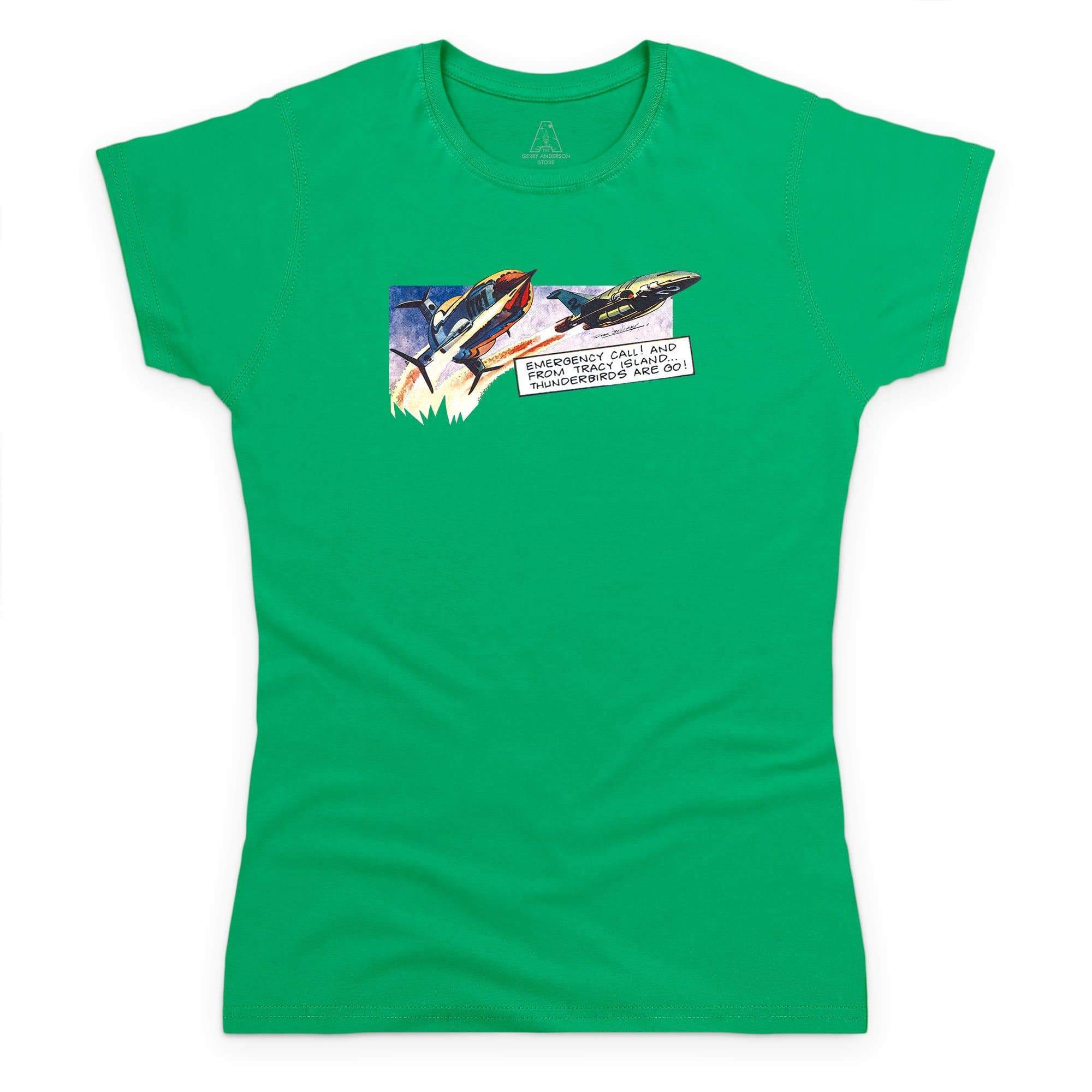 Frank Bellamy Thunderbirds Comic Strip Women's T-Shirt [Official & Exclusive] - The Gerry Anderson Store