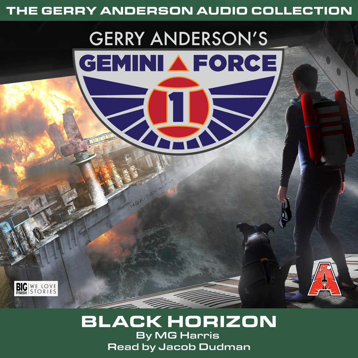 Gemini Force One: Black Horizon [AUDIOBOOK - DOWNLOAD] - The Gerry Anderson Store