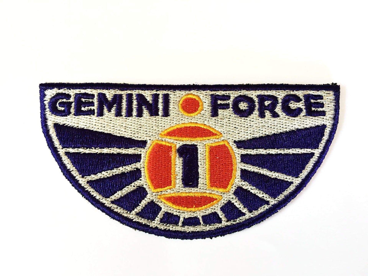 Gemini Force One Embroidered Patch - The Gerry Anderson Store