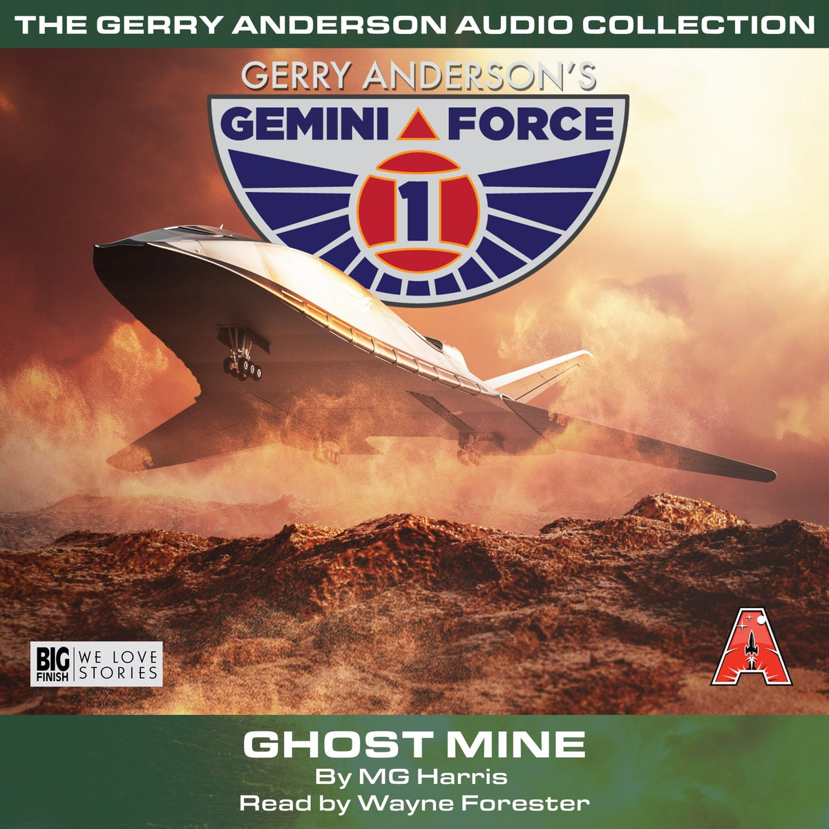 Gemini Force One - Ghost Mine [AUDIOBOOK - DOWNLOAD] - The Gerry Anderson Store