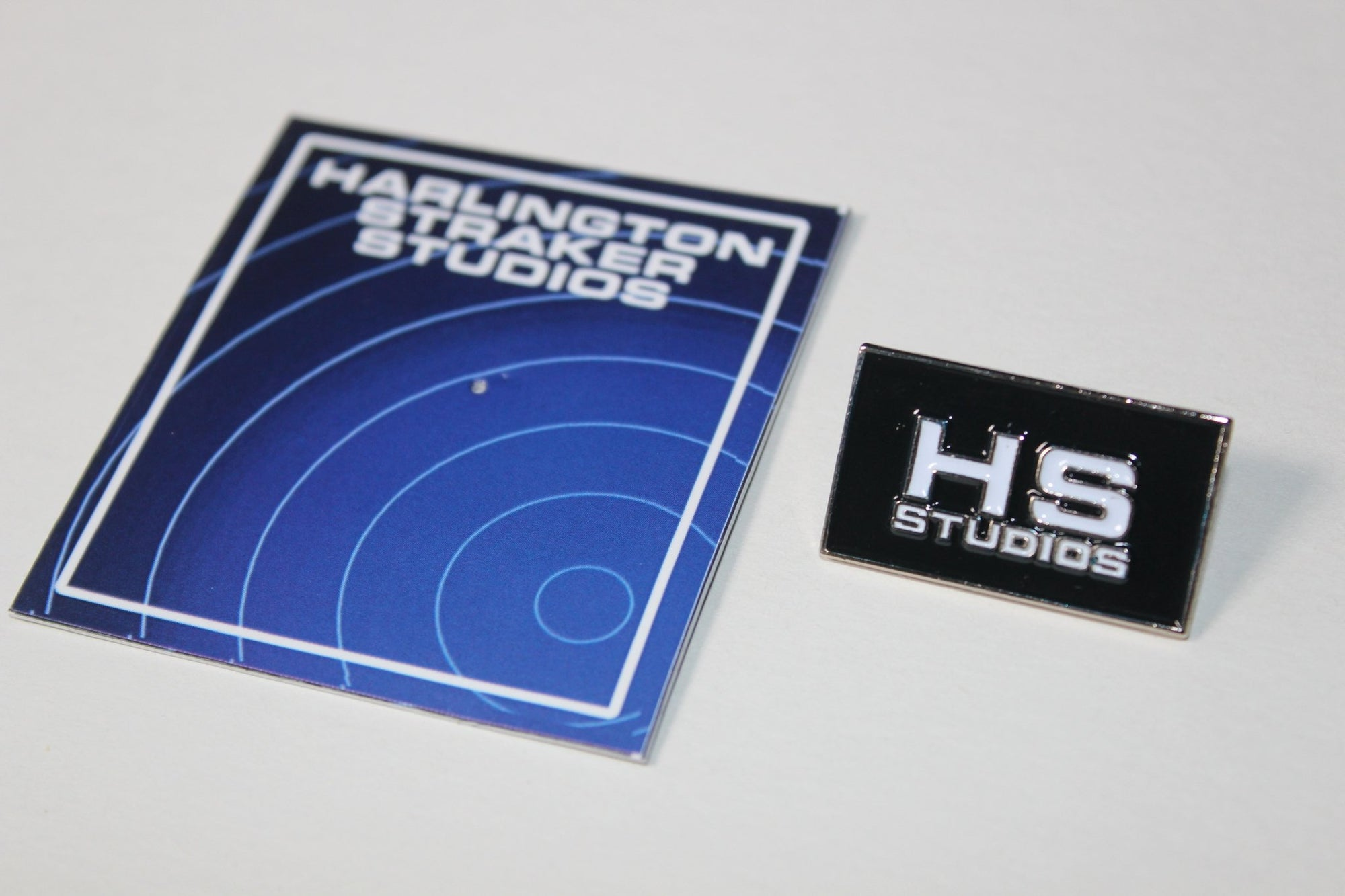 Harlington-Straker Studios Pin Badge - The Gerry Anderson Store