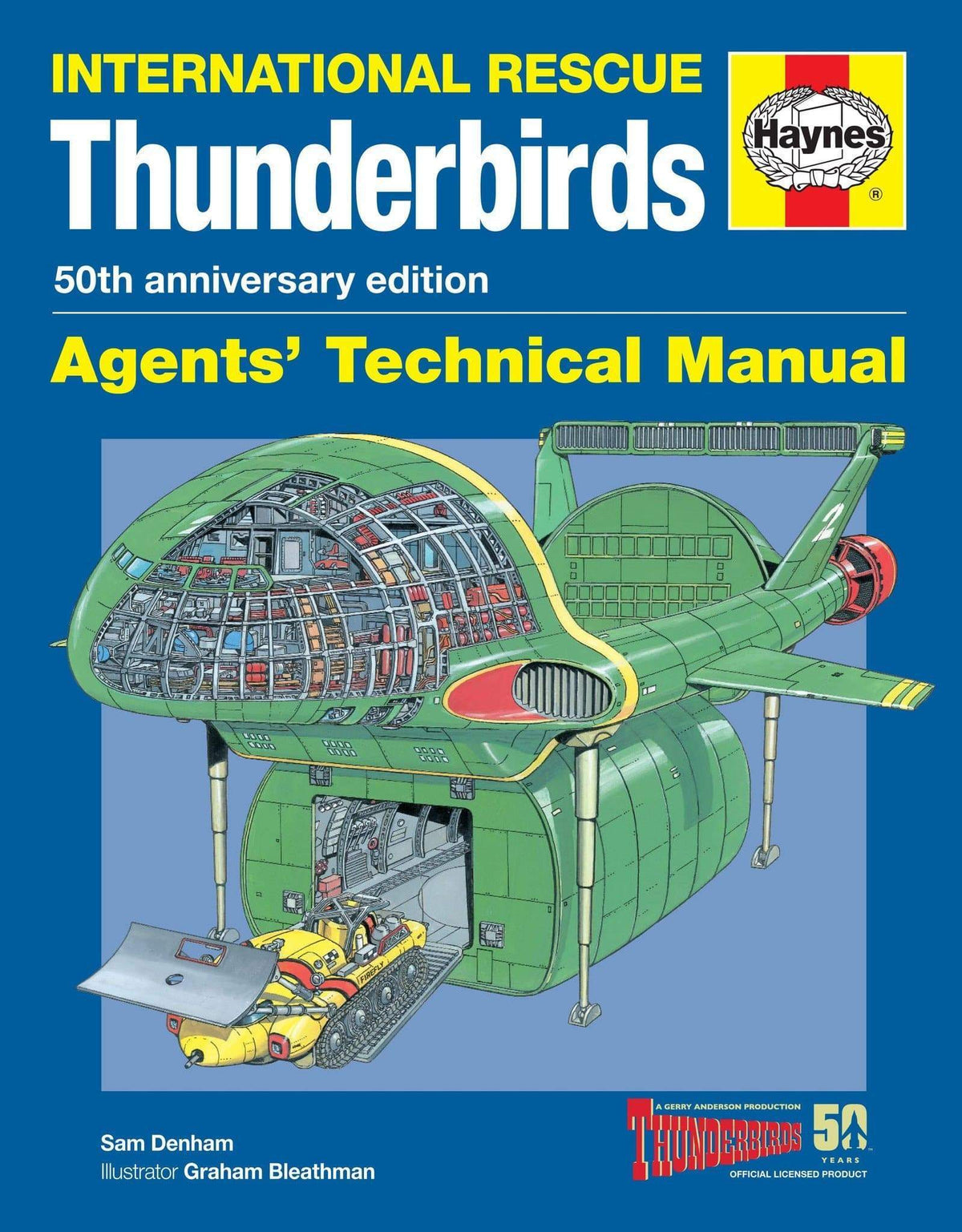 Haynes Thunderbirds Manual - The Gerry Anderson Store