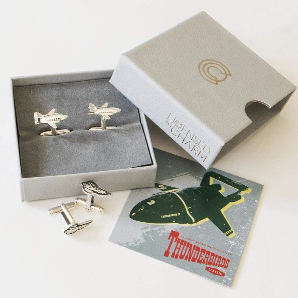 International Rescue Cufflink Set - The Gerry Anderson Store