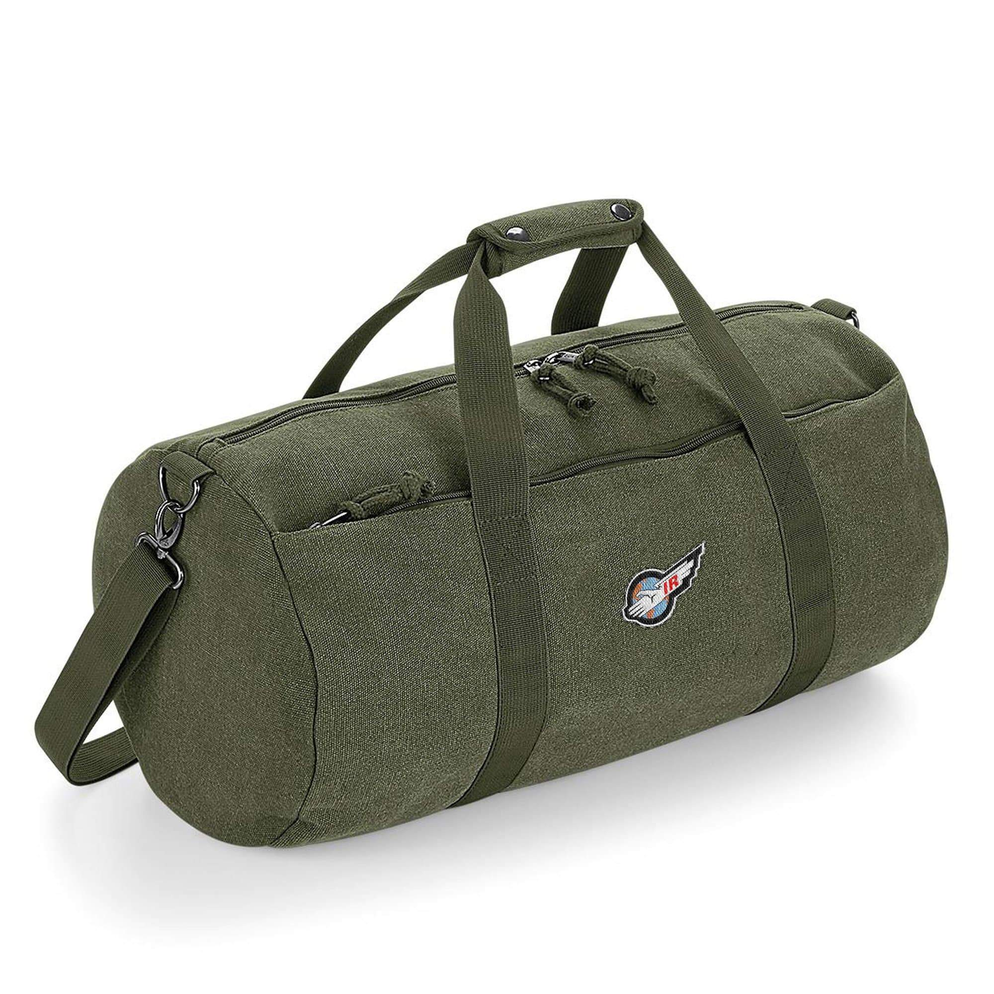 International Rescue/Thunderbirds Barrel Bag [Official & Exclusive] - The Gerry Anderson Store