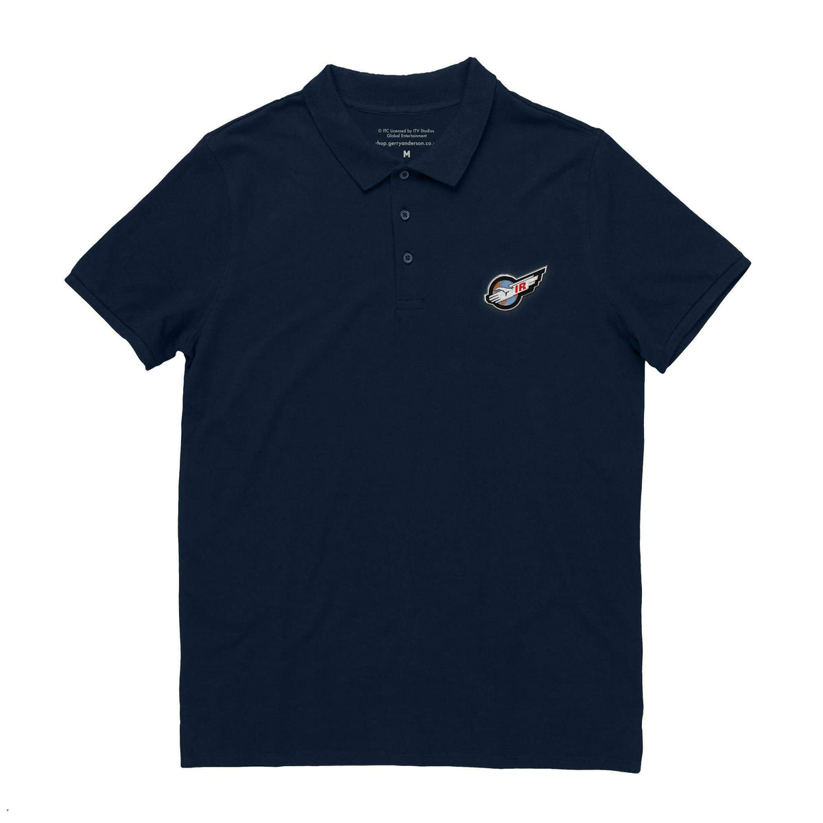 International Rescue/Thunderbirds Men's Polo Shirt [Official & Exclusive] - The Gerry Anderson Store