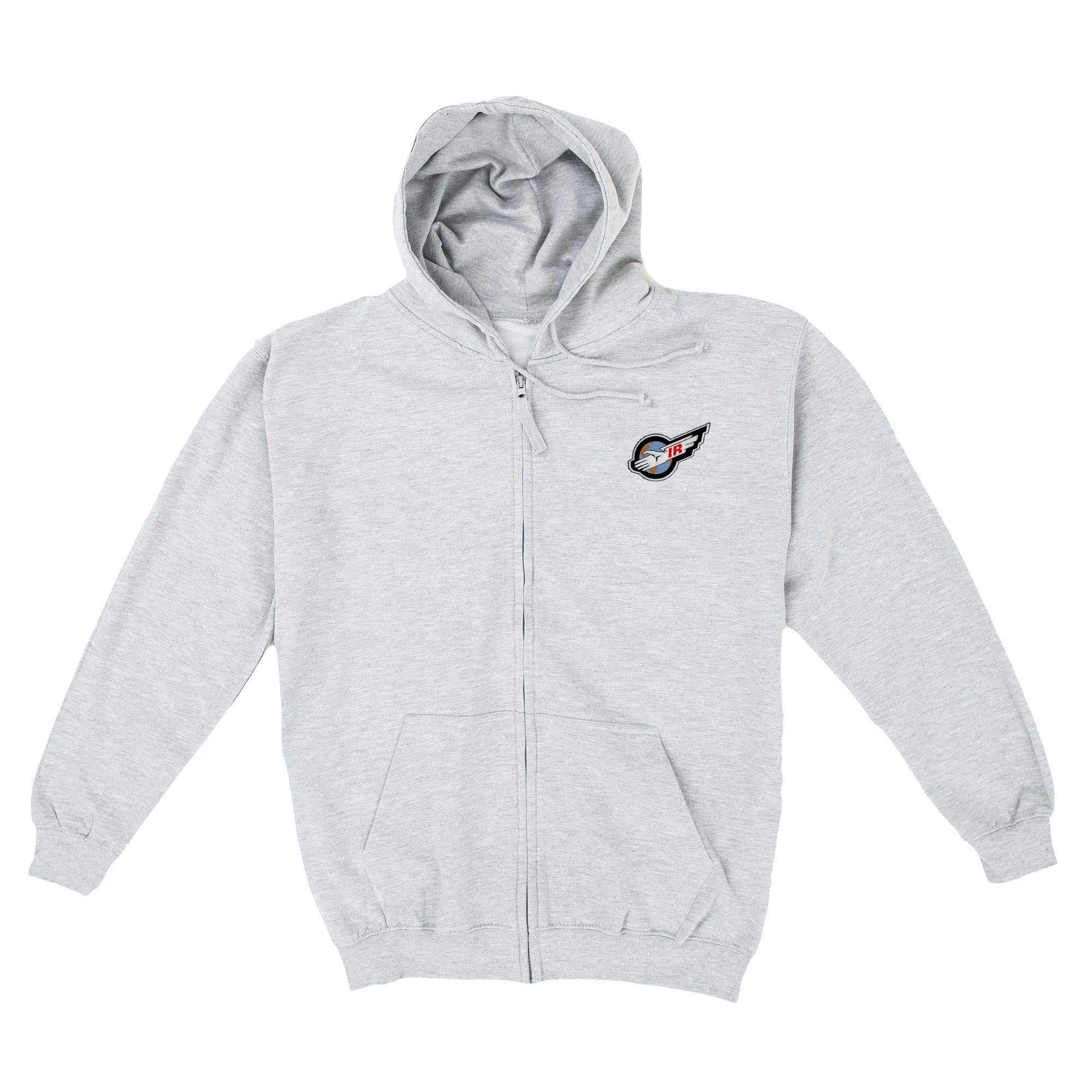 International Rescue/Thunderbirds Men's Zipped Hoodie With Embroidery [Official & Exclusive] - The Gerry Anderson Store