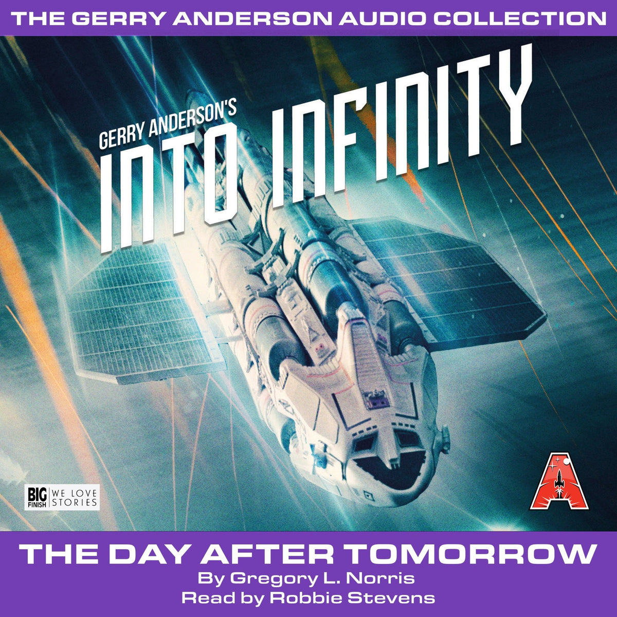 Into Infinity(Book One): The Day After Tomorrow [AUDIOBOOK - DOWNLOAD] - The Gerry Anderson Store