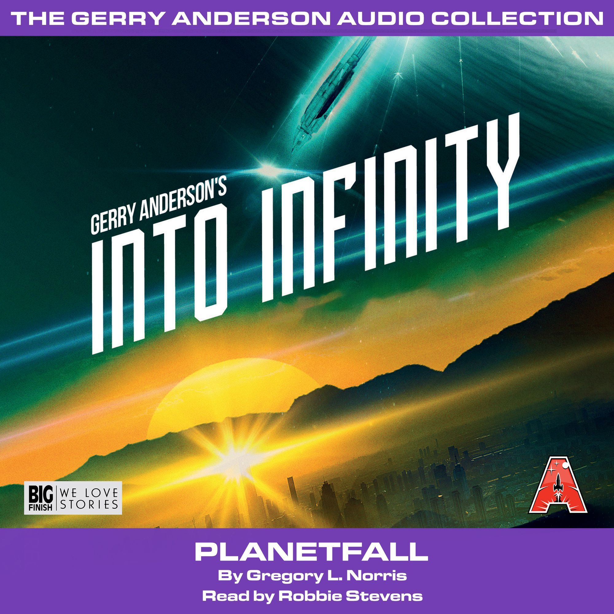 Into Infinity(Book Two): Planetfall [AUDIOBOOK - DOWNLOAD] - The Gerry Anderson Store