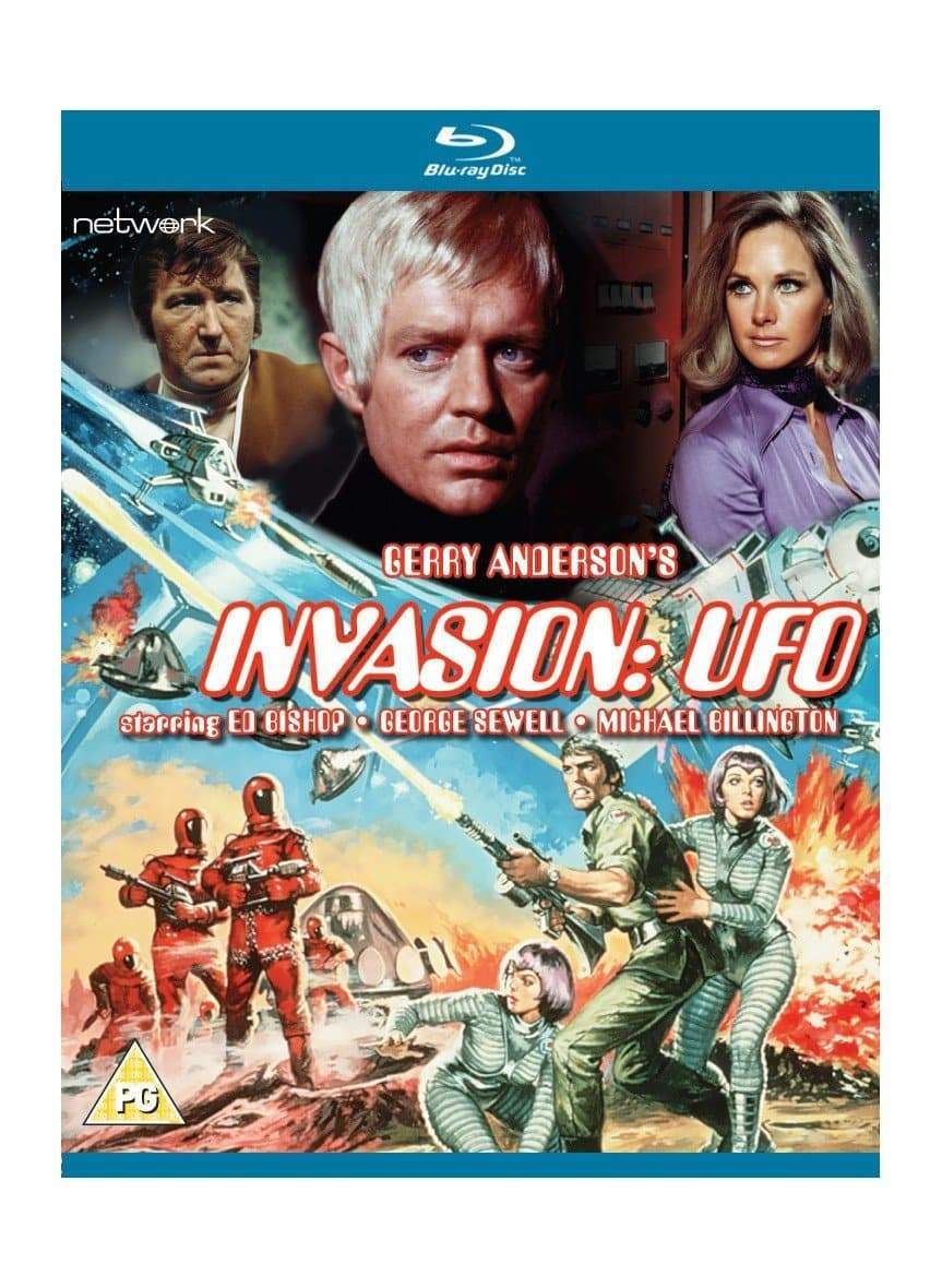 Invasion: UFO [Blu-ray](Region B) - The Gerry Anderson Store