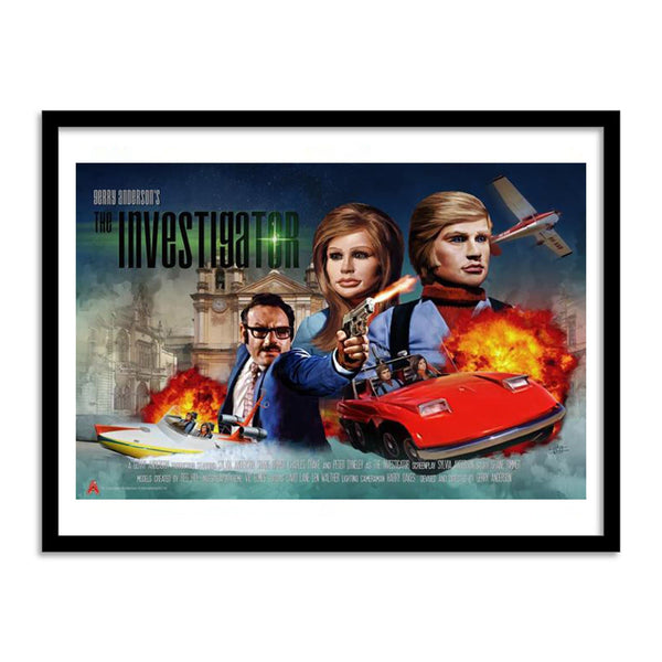 The Investigator Poster by Eric Chu - The Gerry Anderson Store