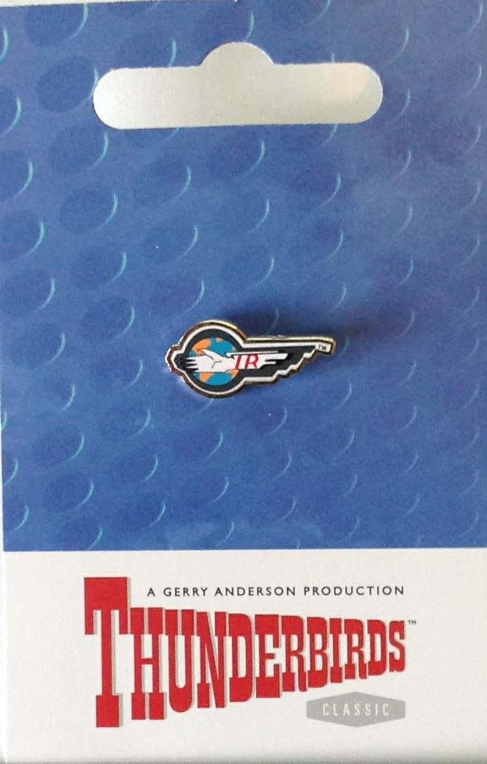 Limited Edition International Rescue Mini Pin Badge - Gerry Anderson Official - 2