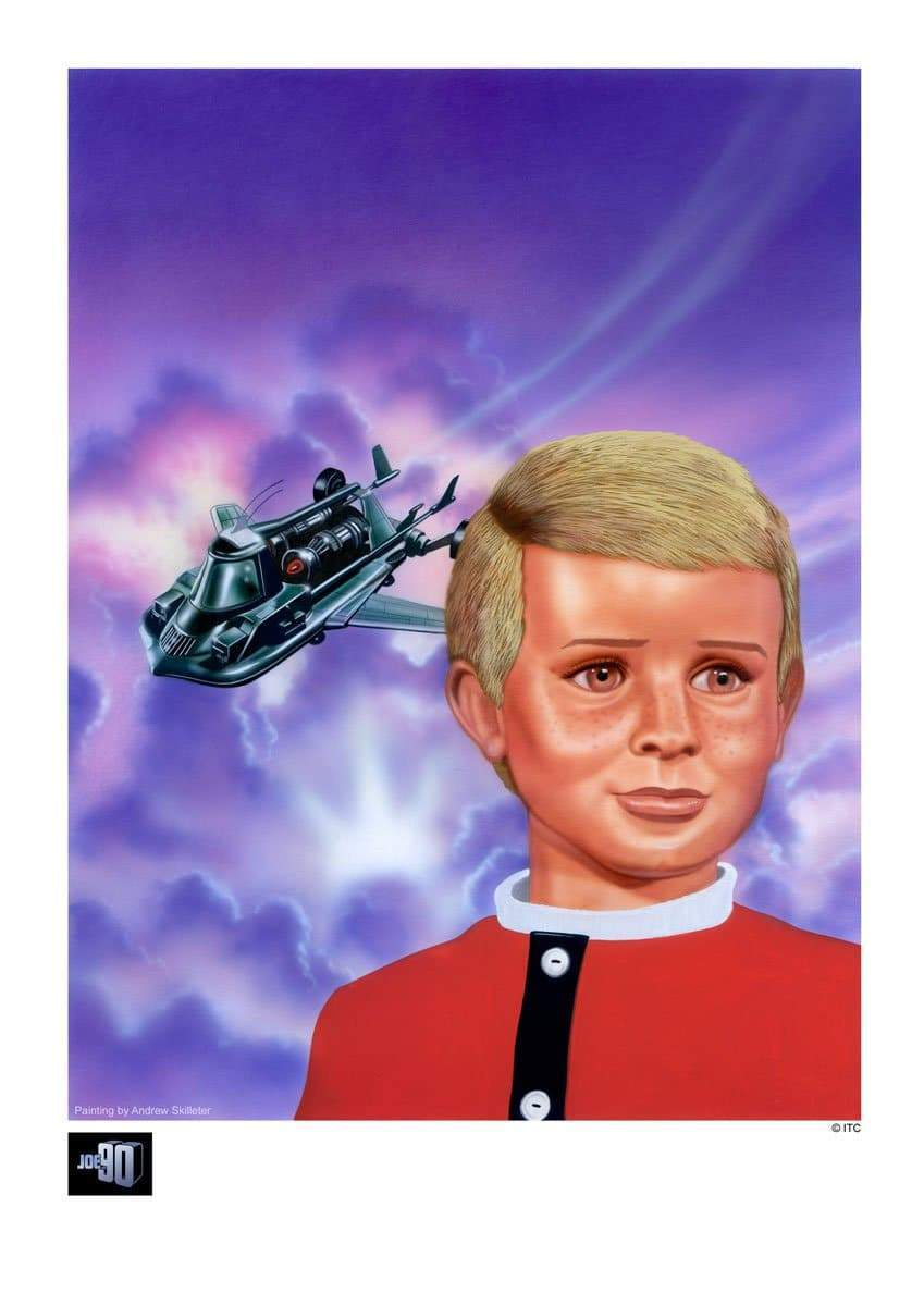 Joe 90 'Arrival!' Artist Signed Print (Official & Exclusive] - The Gerry Anderson Store