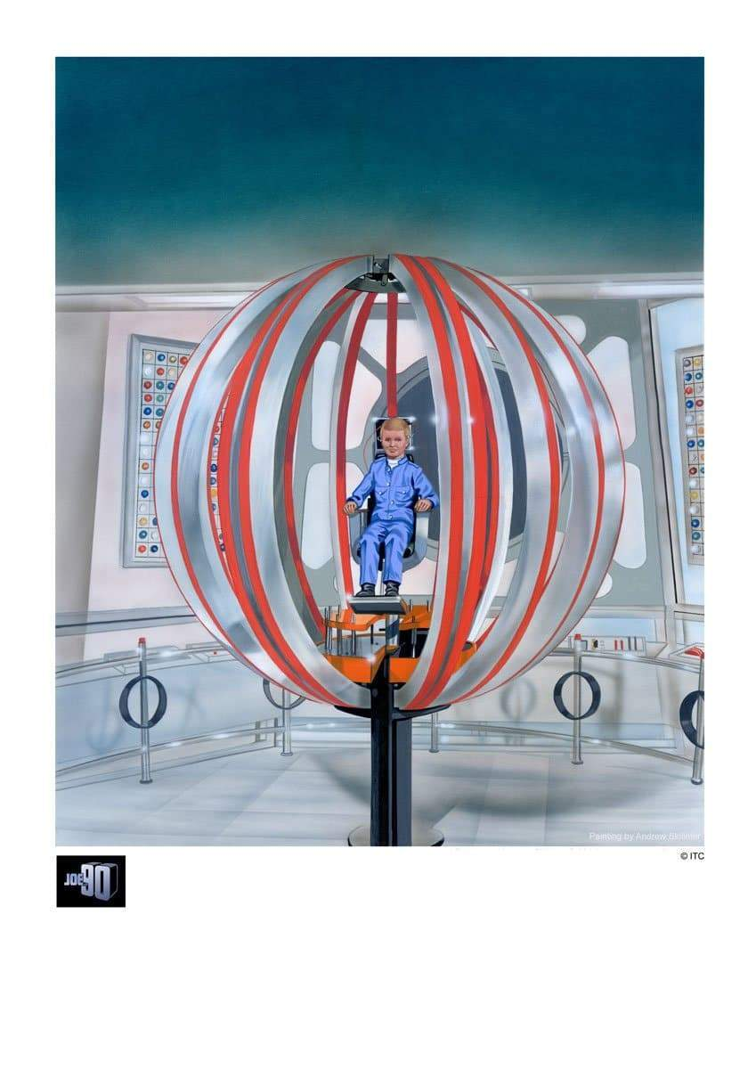 "Joe 90 ""BIG RAT"" Artist Signed Print (Official & Exclusive] - The Gerry Anderson Store"