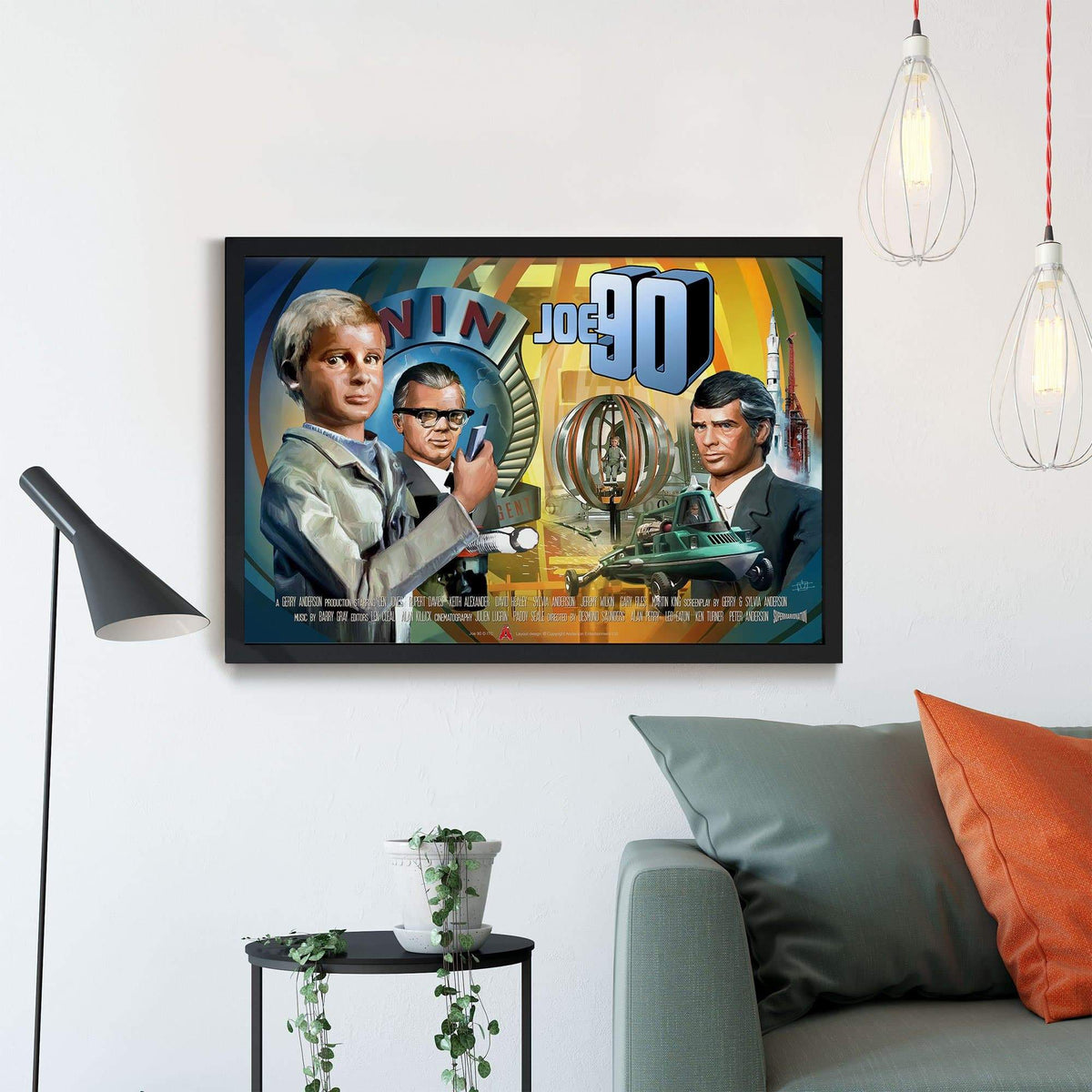 Joe 90 Framed Print [Official & Exclusive] - The Gerry Anderson Store