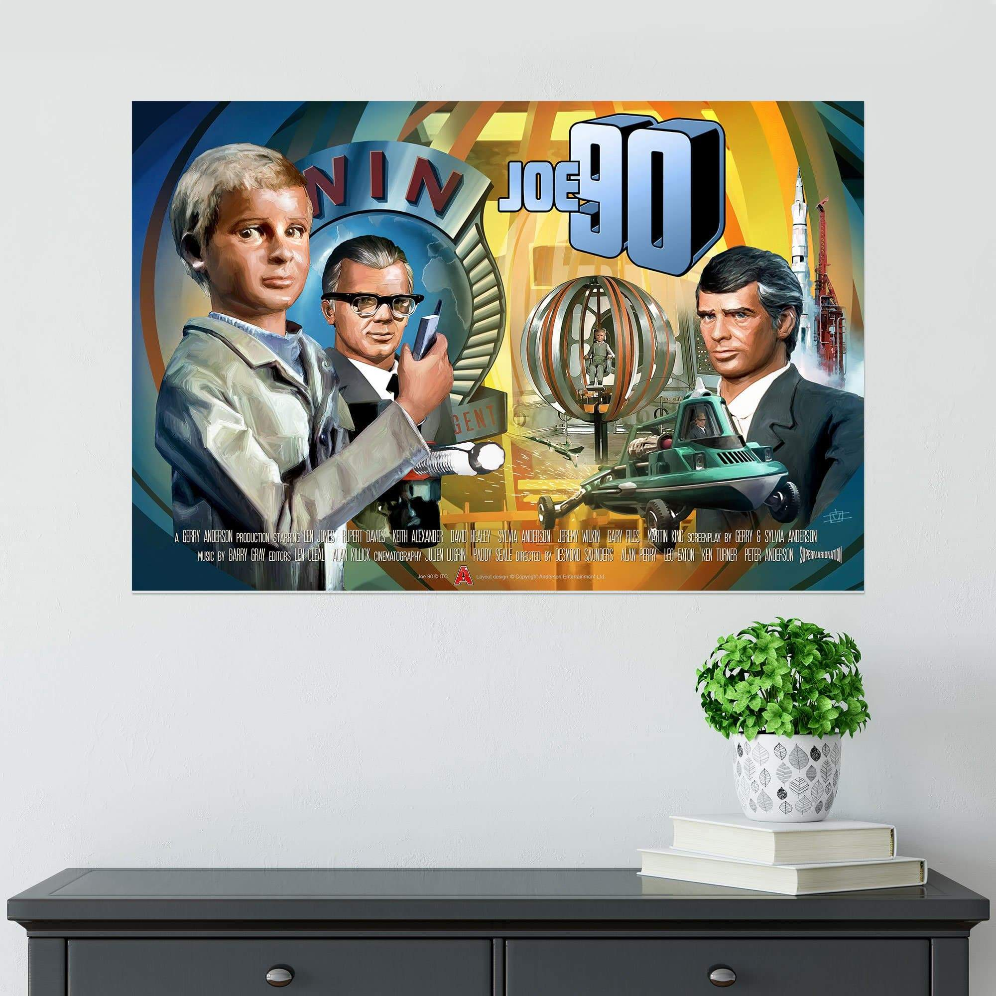 Joe 90 Poster [Official & Exclusive] - The Gerry Anderson Store