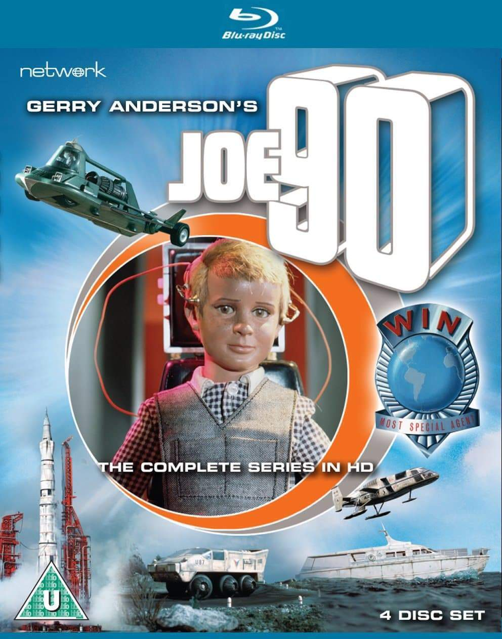 Joe 90: The Complete Series (BLU-RAY) (Region B) - The Gerry Anderson Store