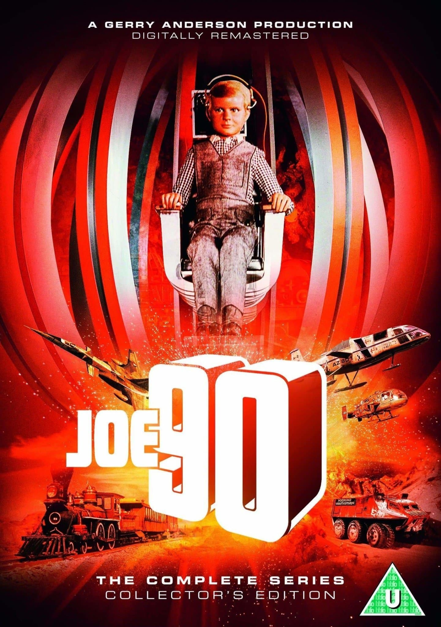 Joe 90: The Complete Series Box Set [DVD] (2018 Edition/Region 2) - The Gerry Anderson Store