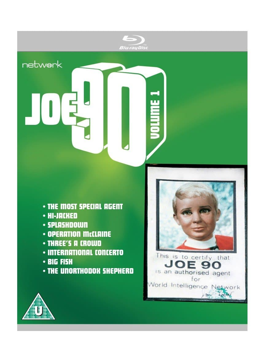 Joe 90: Volume 1 [BLU-RAY] - The Gerry Anderson Store