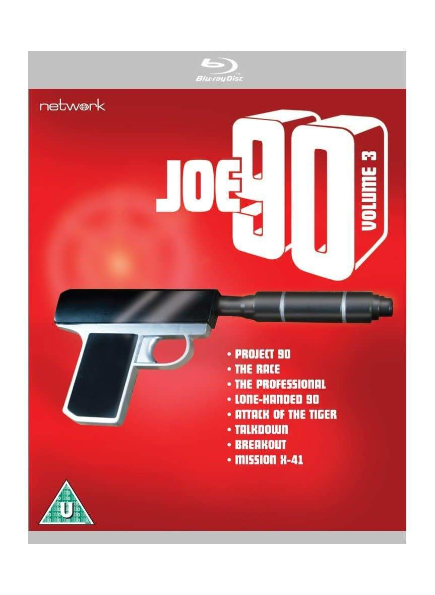 Joe 90: Volume 3 [BLU-RAY](Region ABC) - The Gerry Anderson Store