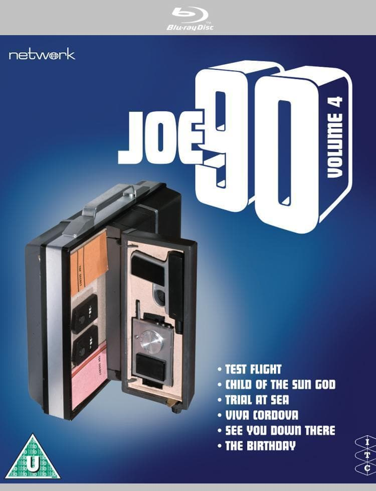 Joe 90: Volume 4 [BLU-RAY](Region ABC) - The Gerry Anderson Store