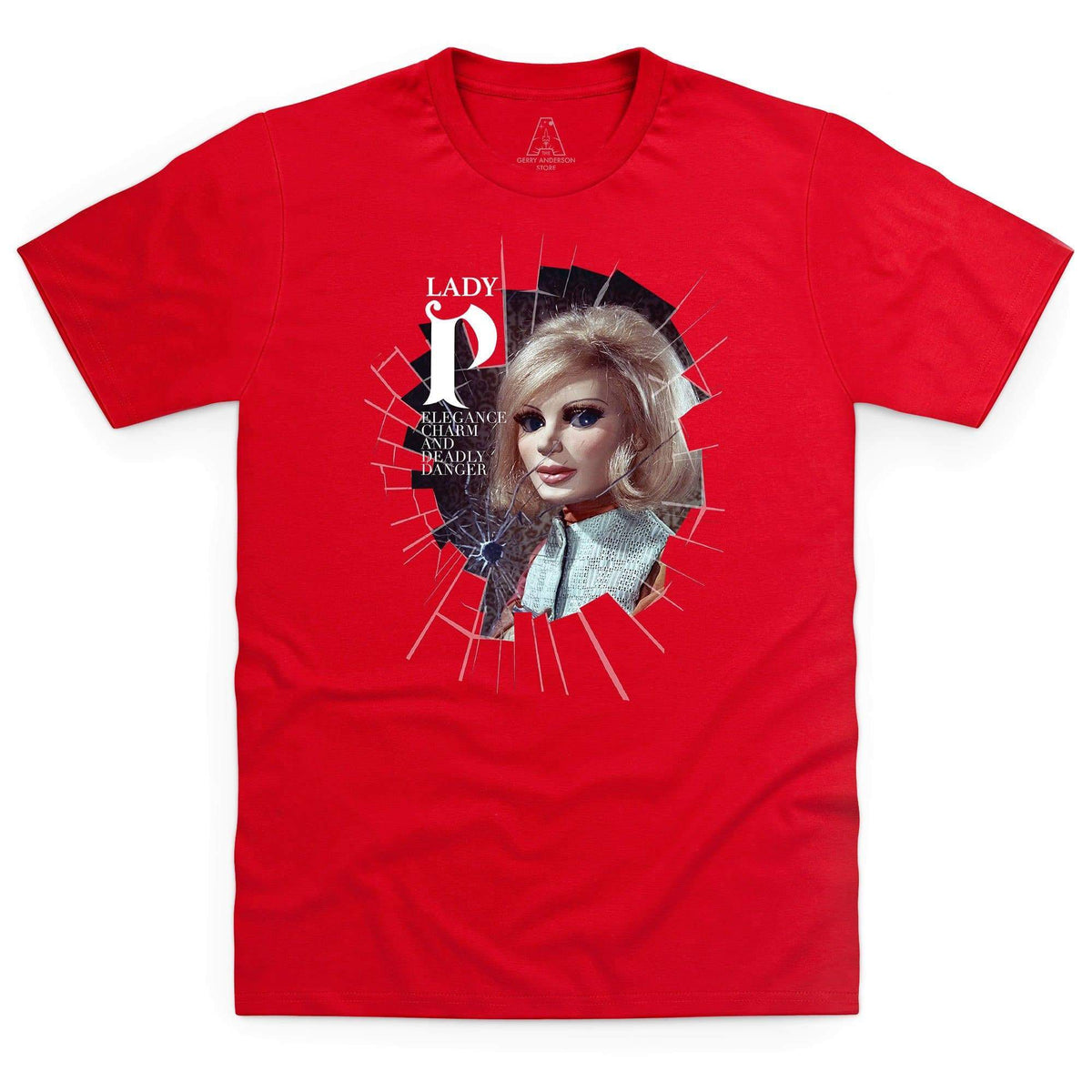 Lady Penelope - Elegance, Charm and Deadly Danger Men's T-Shirt [Official & Exclusive] - The Gerry Anderson Store