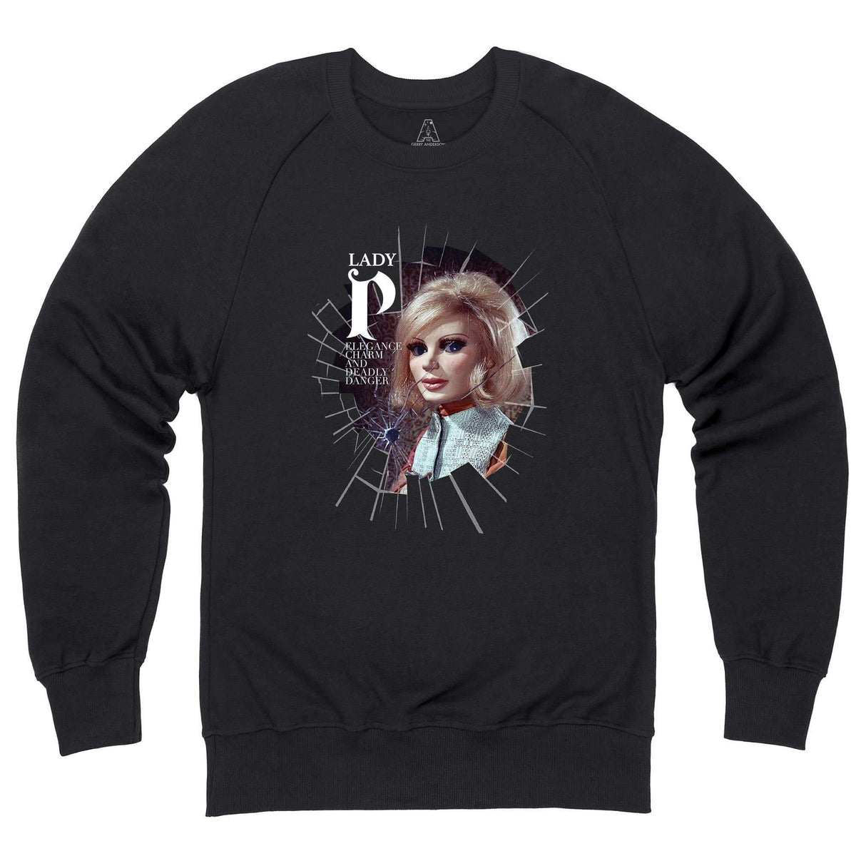 Lady Penelope - Elegance, Charm and Deadly Danger Sweatshirt [Official & Exclusive] - The Gerry Anderson Store