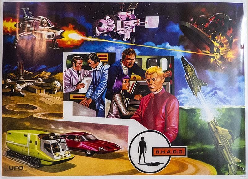 Limited Edition UFO Poster (Double-sided) - The Gerry Anderson Store