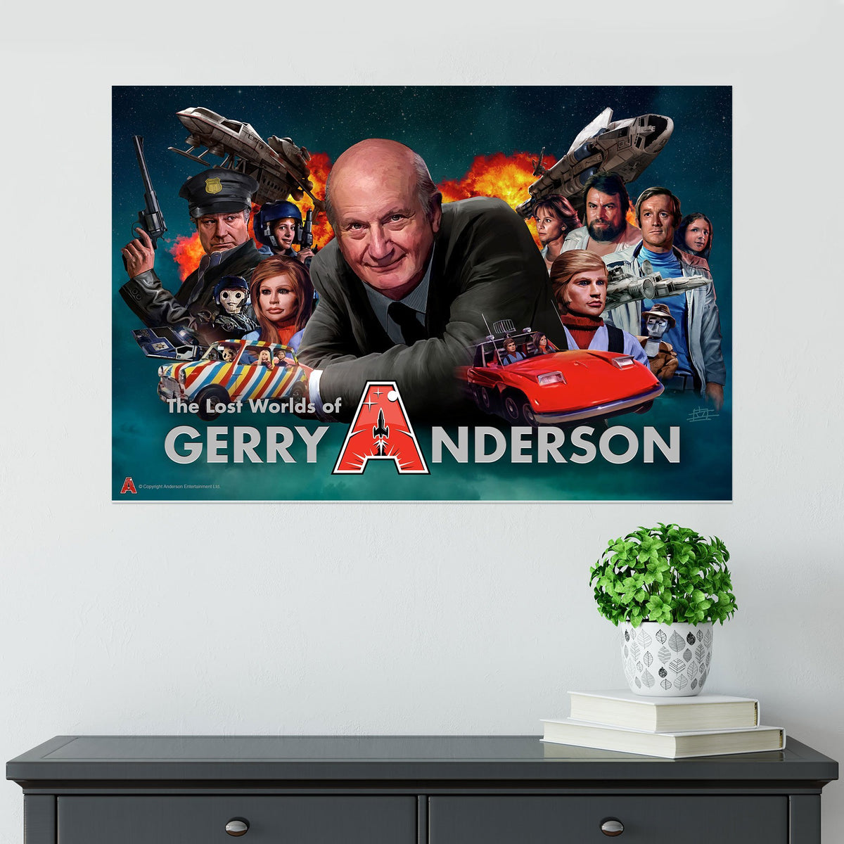 Lost Worlds of Gerry Anderson Poster [Official and Exclusive] - The Gerry Anderson Store