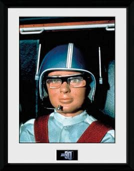 Joe 90 in Helmet Print [Framed] - The Gerry Anderson Store