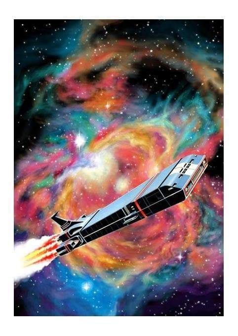 Mike Noble & Lee Sullivan Zero X Print (Limited edition) - The Gerry Anderson Store