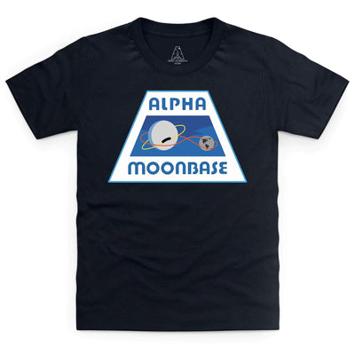Moonbase Alpha/Space: 1999 Kid's T-Shirt [Official & Exclusive] - The Gerry Anderson Store