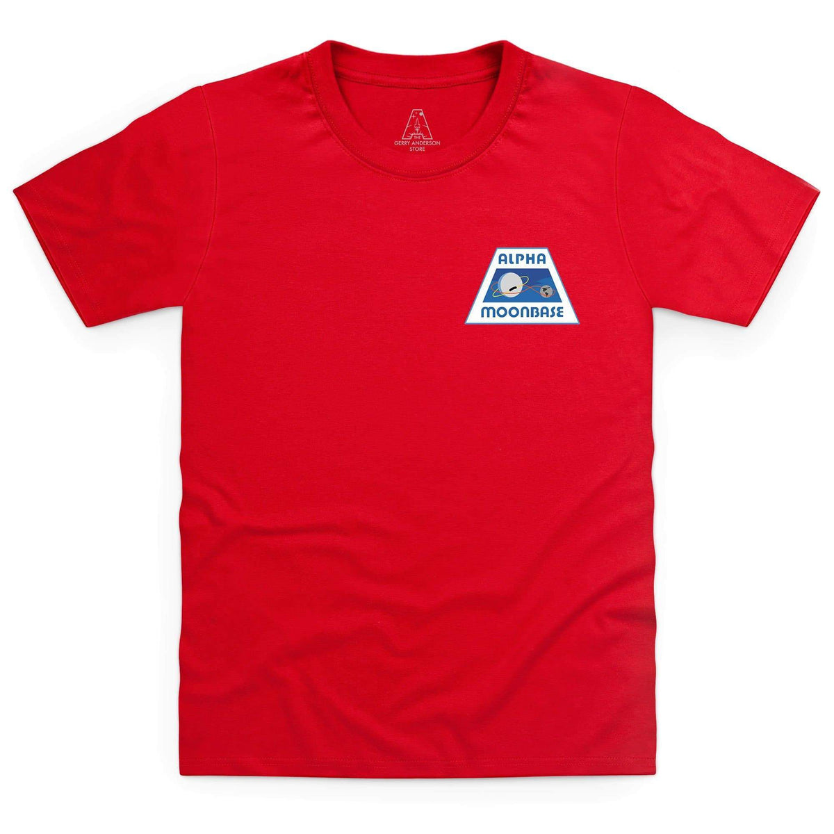 Moonbase Alpha/Space: 1999 Kid's T-Shirt-Small Logo [Official & Exclusive] - The Gerry Anderson Store