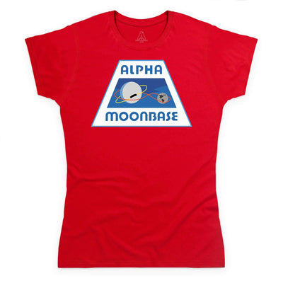 Moonbase Alpha/Space: 1999 Women's T-Shirt [Official & Exclusive] - The Gerry Anderson Store