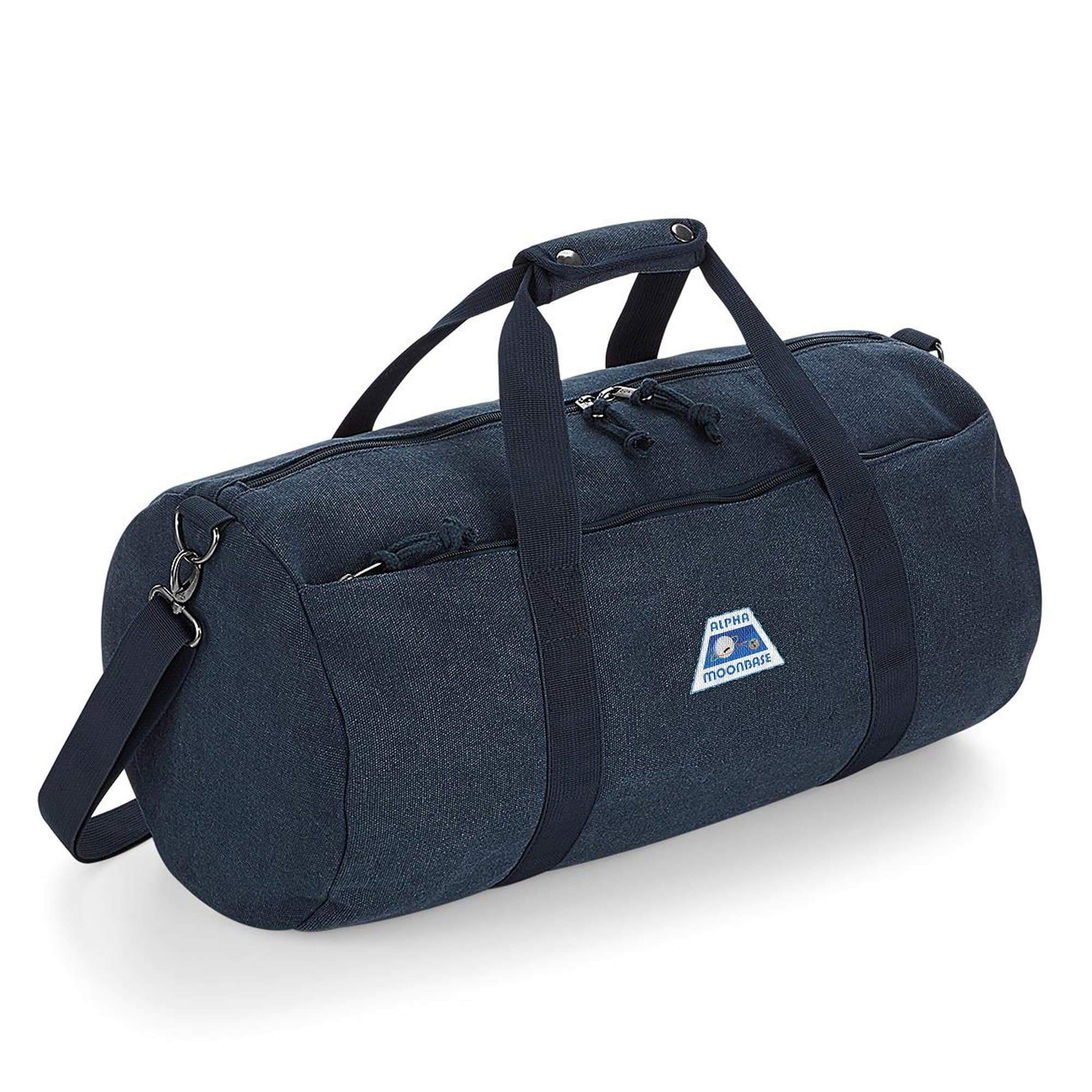 Moonbase Alpha/Space:1999 Barrel Bag [Official & Exclusive] - The Gerry Anderson Store