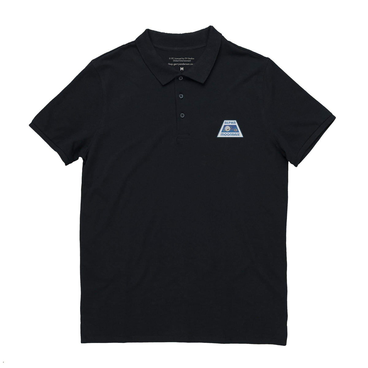 Moonbase Alpha/Space:1999 Men's Polo Shirt [Official & Exclusive] - The Gerry Anderson Store