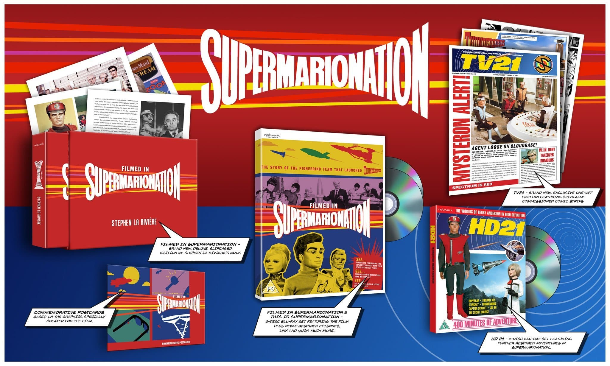 Supermarionation Box Set [Limited edition of 2,500] - Gerry Anderson Official - 2
