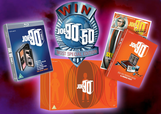 Joe 90 Deluxe Blu-ray Collectors Box Set Available to Pre-order Now!