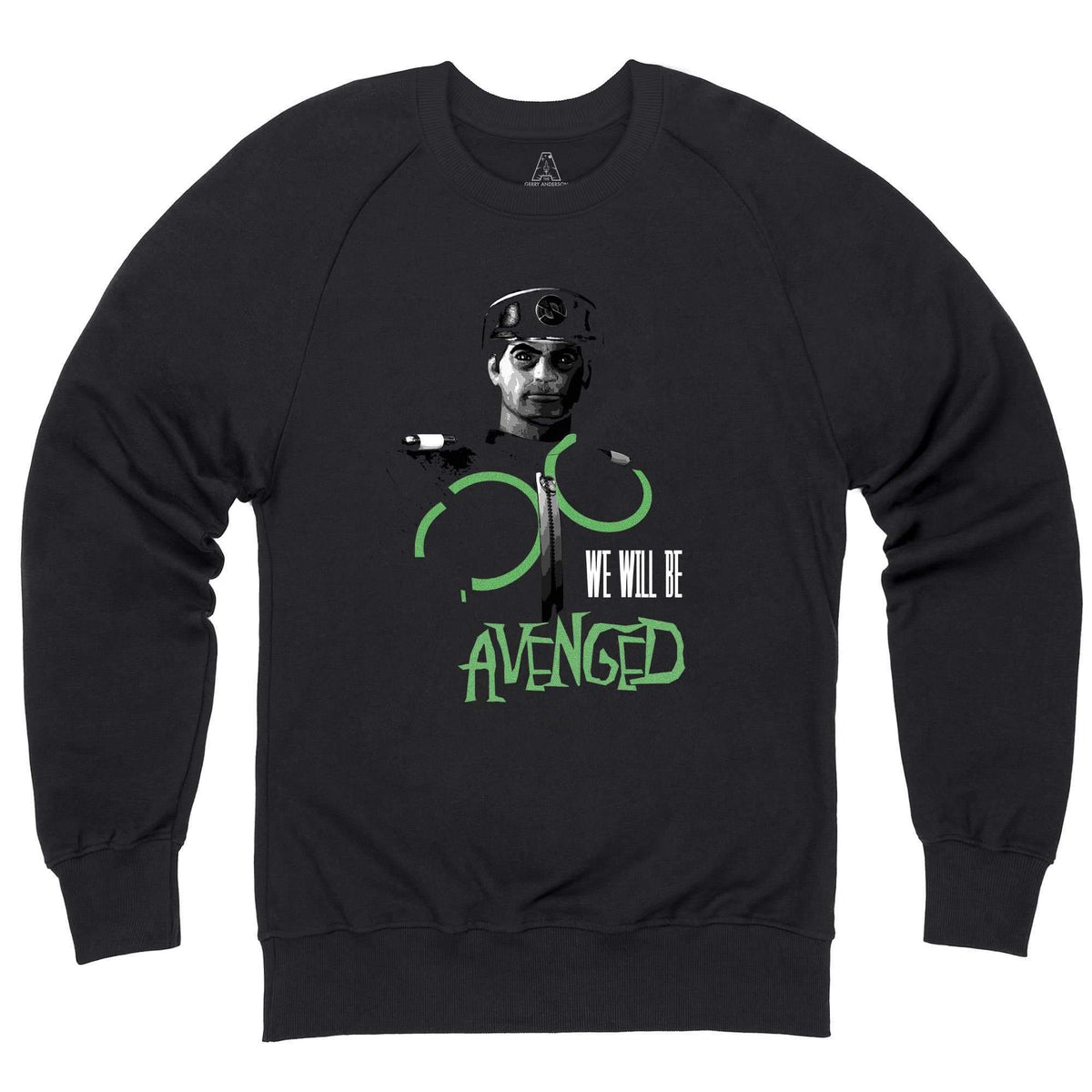 New Captain Scarlet Avenged Sweatshirt [Official & Exclusive] - The Gerry Anderson Store