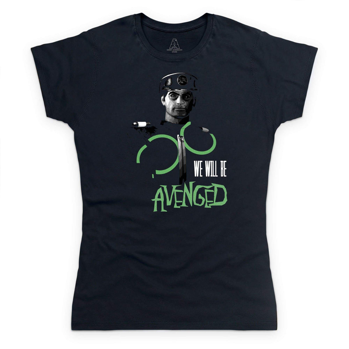 New Captain Scarlet Avenged Women's T-Shirt [Official & Exclusive] - The Gerry Anderson Store