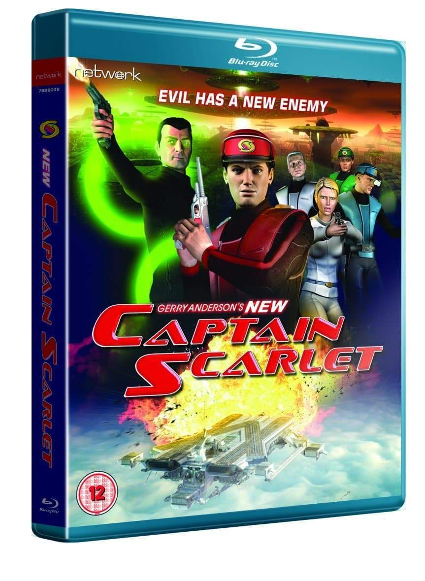 New Captain Scarlet Blu-ray - the complete series (Region ABC) - The Gerry Anderson Store