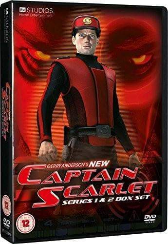 New Captain Scarlet: Complete Series 1 and 2 Box Set [DVD](Region 2) - The Gerry Anderson Store