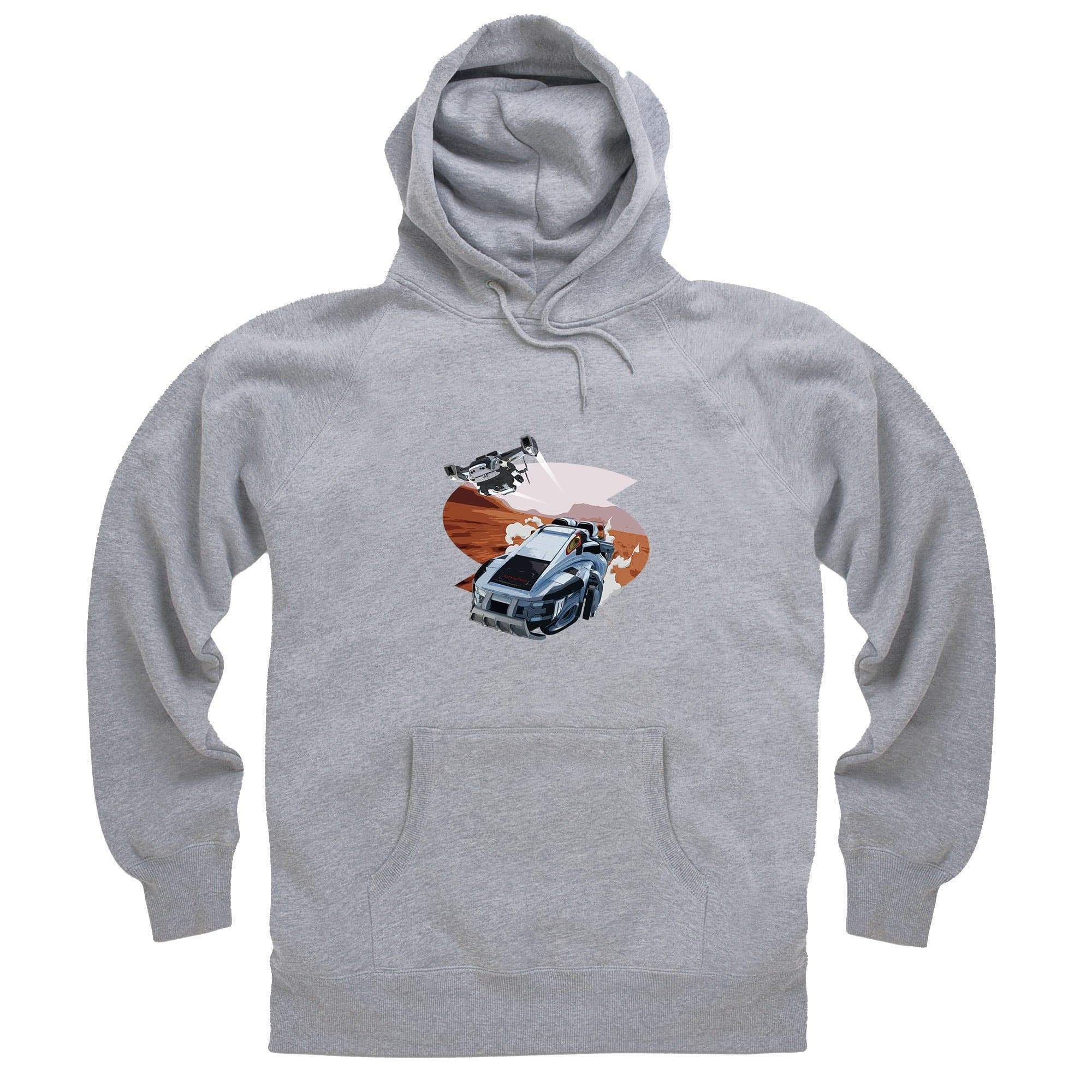New Captain Scarlet Rhino Hoodie [Official & Exclusive] - The Gerry Anderson Store