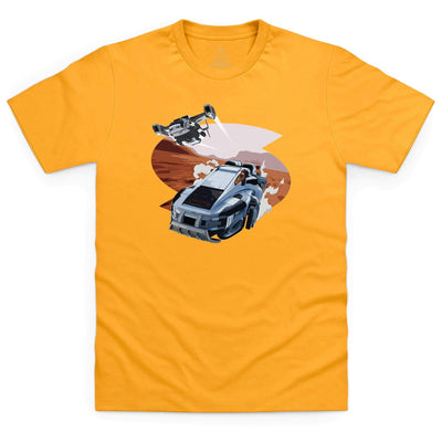 New Captain Scarlet Rhino Kid's T-Shirt [Official & Exclusive] - The Gerry Anderson Store