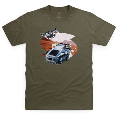 New Captain Scarlet Rhino Men's T-Shirt [Official & Exclusive] - The Gerry Anderson Store