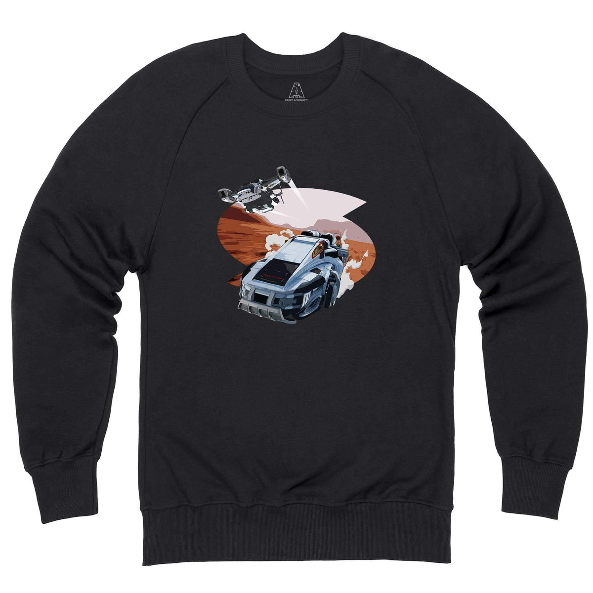 New Captain Scarlet Rhino Sweatshirt [Official & Exclusive] - The Gerry Anderson Store
