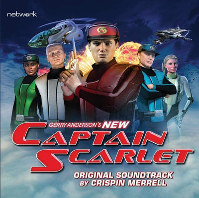 New Captain Scarlet Soundtrack - The Gerry Anderson Store